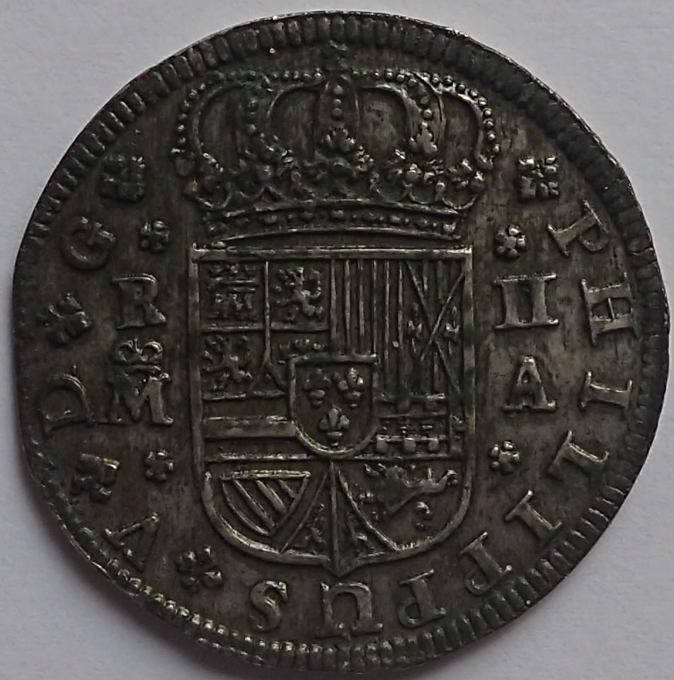 2 Reales 1721.felipe V. Madrid P1240217