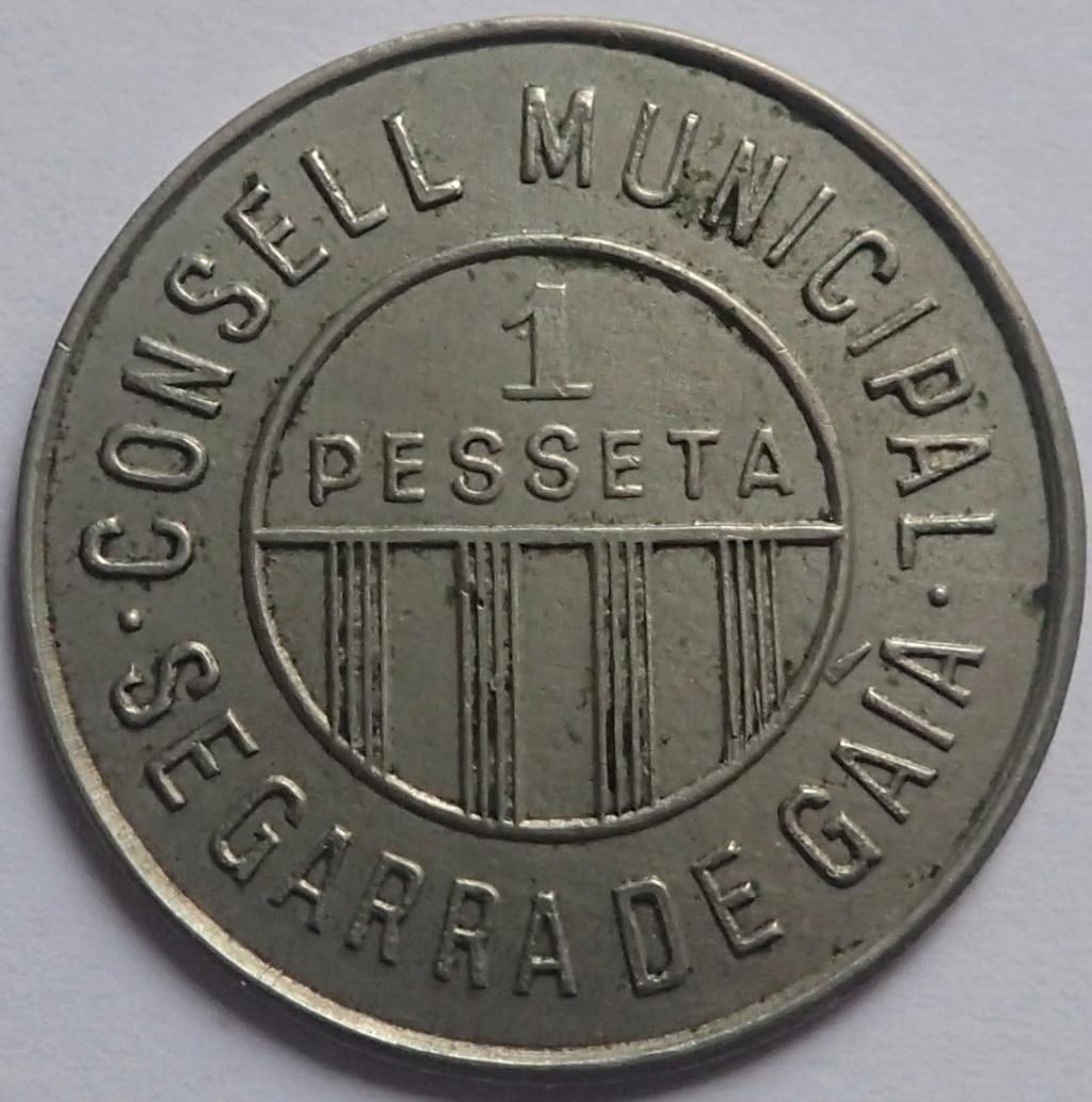 1 Pesseta Consejo Municipal de Segarra de Gaià P2070611