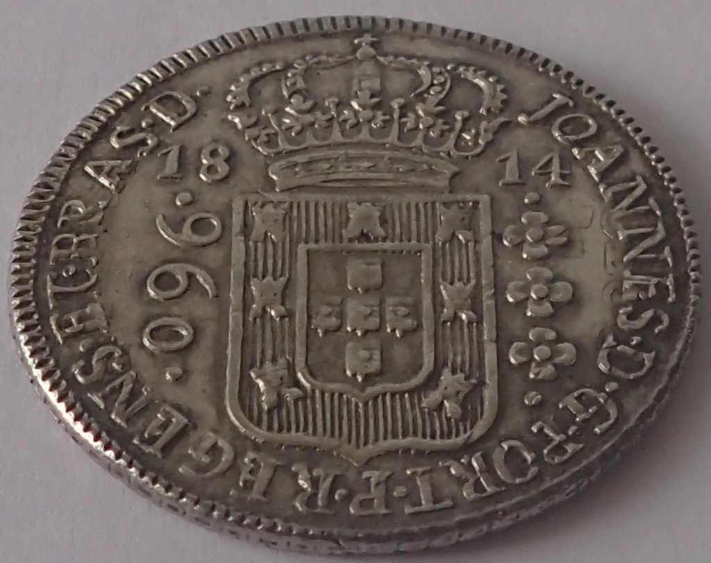 960 Reis 1814. Joao VI. Brasil. P2230010