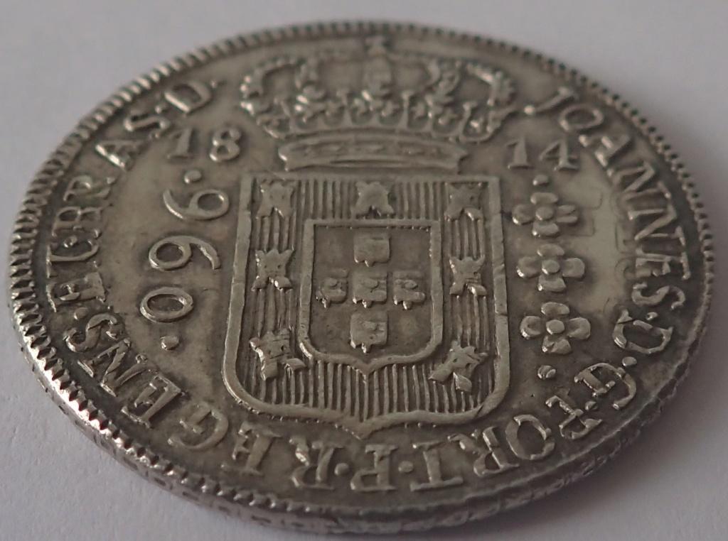 960 Reis 1814. Joao VI. Brasil. P2230012