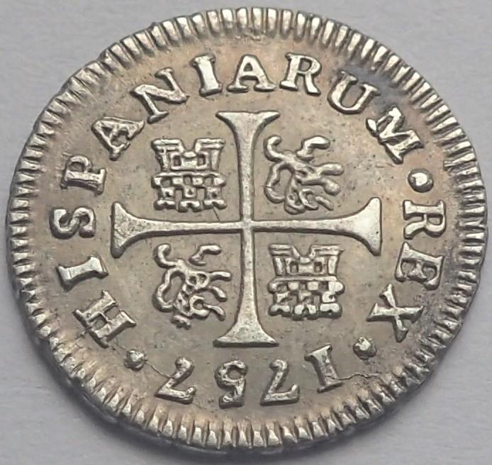 1/2 real. FERNANDO VI. 1757. Madrid. JB P4200112