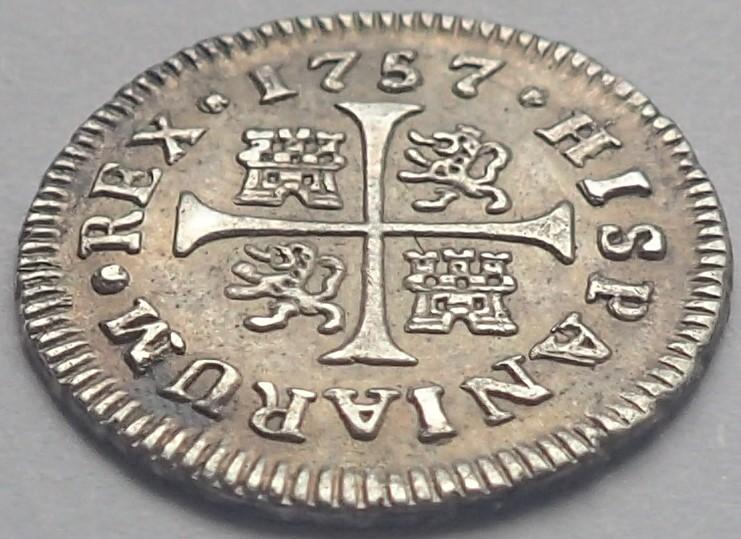 1/2 real. FERNANDO VI. 1757. Madrid. JB P4200113