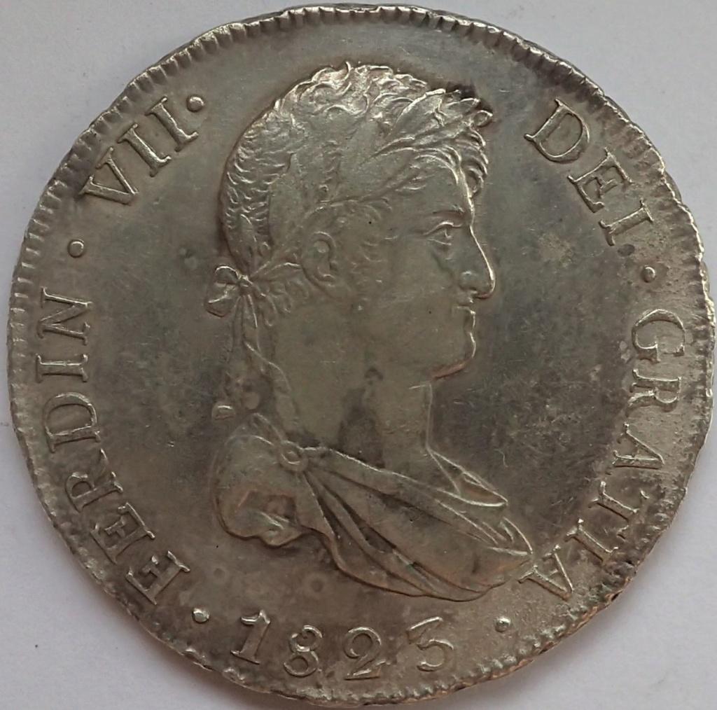 8 reales 1823. Fernando VII. Potosí P9140010
