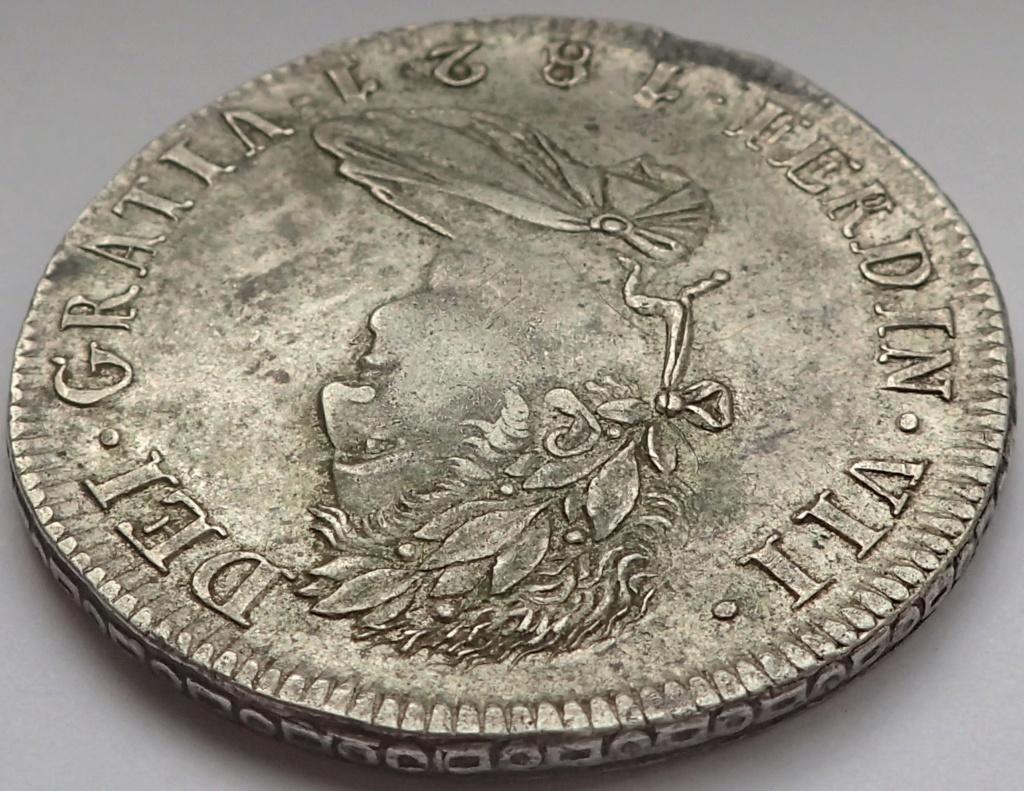 8 Reales Fernando VII. 1821. Zacatecas. RG P9140011