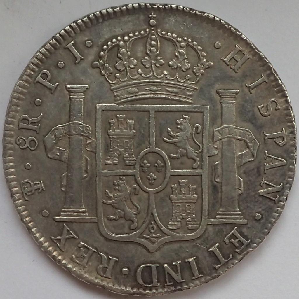 8 reales 1823. Fernando VII. Potosí P9140110