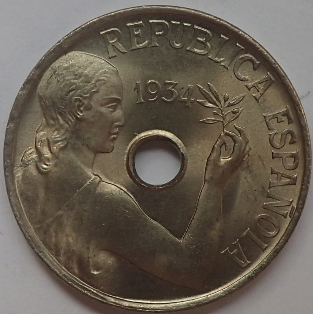 25 céntimos 1934. II República P9140213