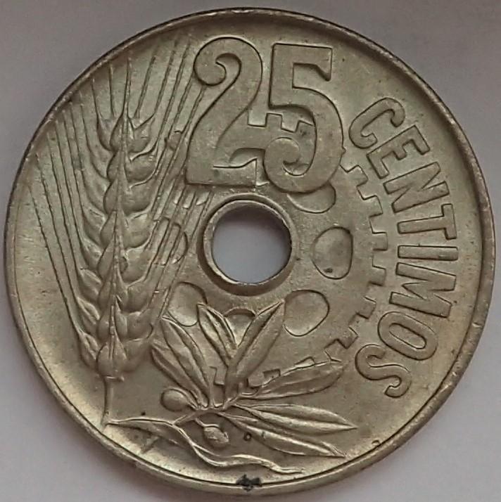 25 céntimos 1934. II República P9140214
