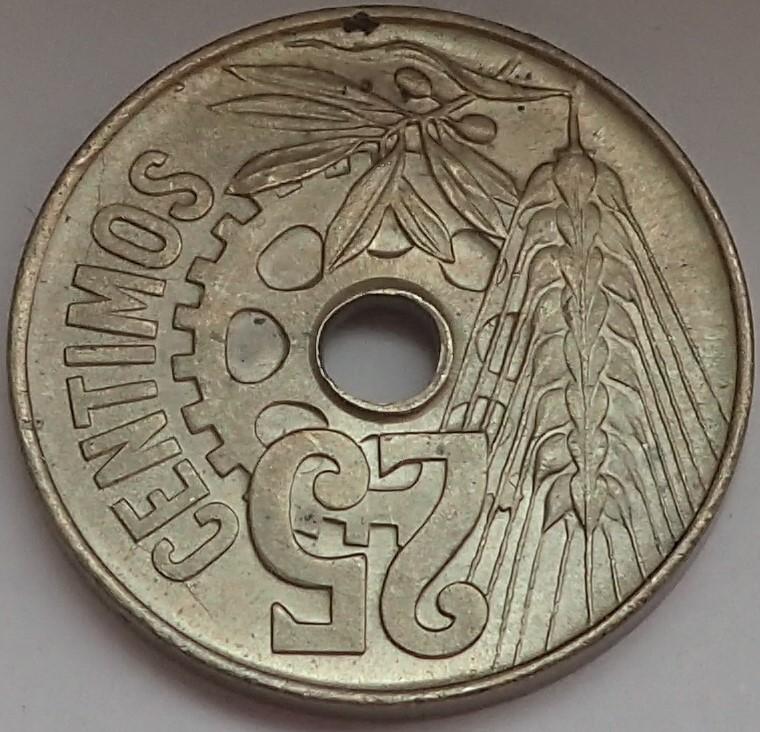 25 céntimos 1934. II República P9140215