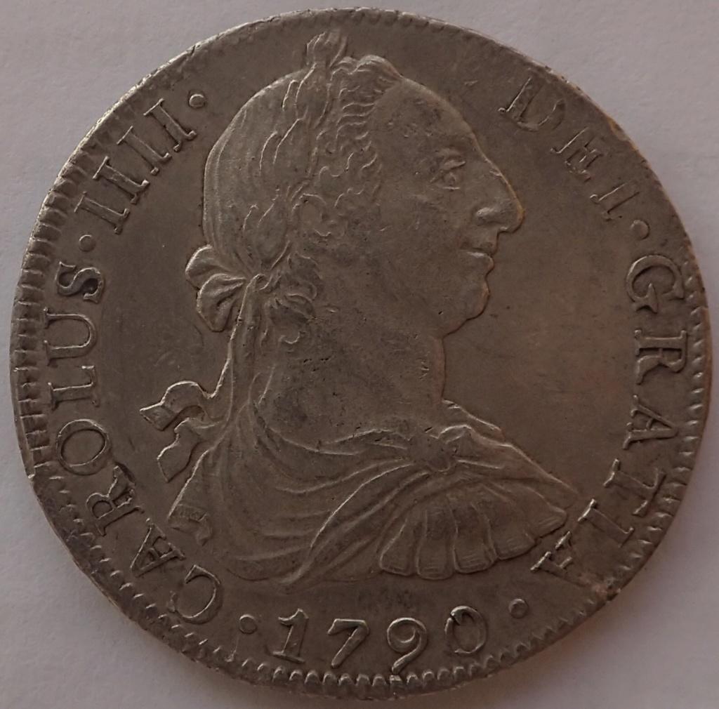 8 Reales Carlos IIII. 1790. Mexico. FM. P9260010