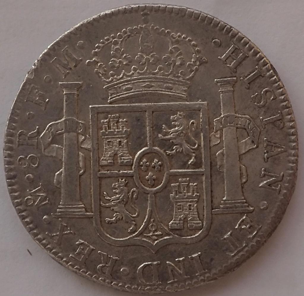 8 Reales Carlos IIII. 1790. Mexico. FM. P9260011