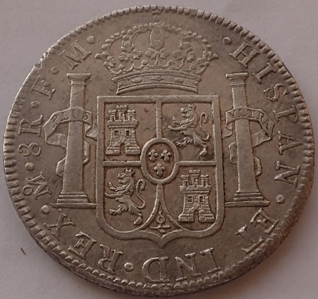 8 Reales Carlos IIII. 1790. Mexico. FM. P9260012