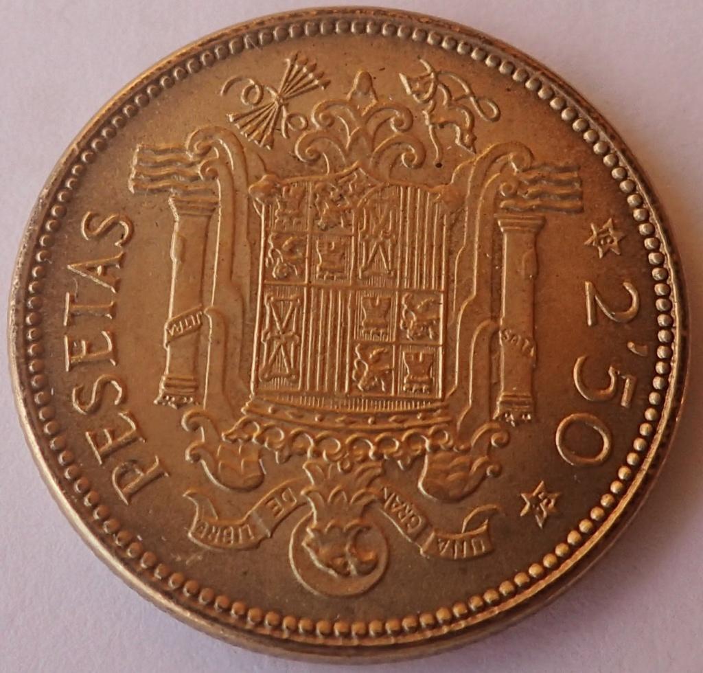 2,50 Pesetas 1953 (*19*54). Estado Español P9260211