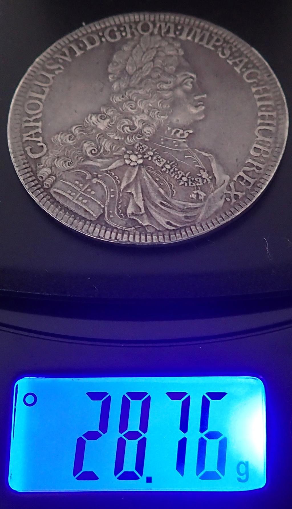 1 Taler de Carlos VI, 1721 Pb170310