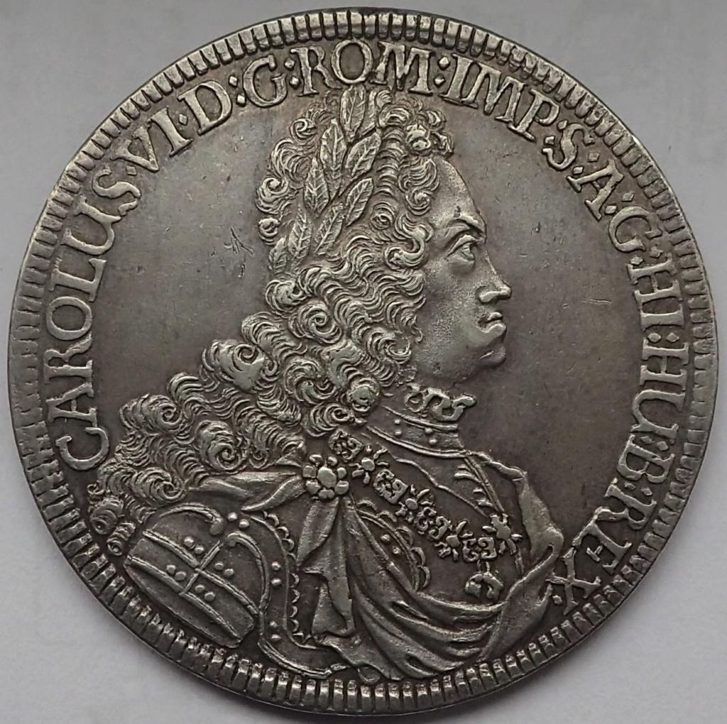 1 Taler de Carlos VI, 1721 Pb170313