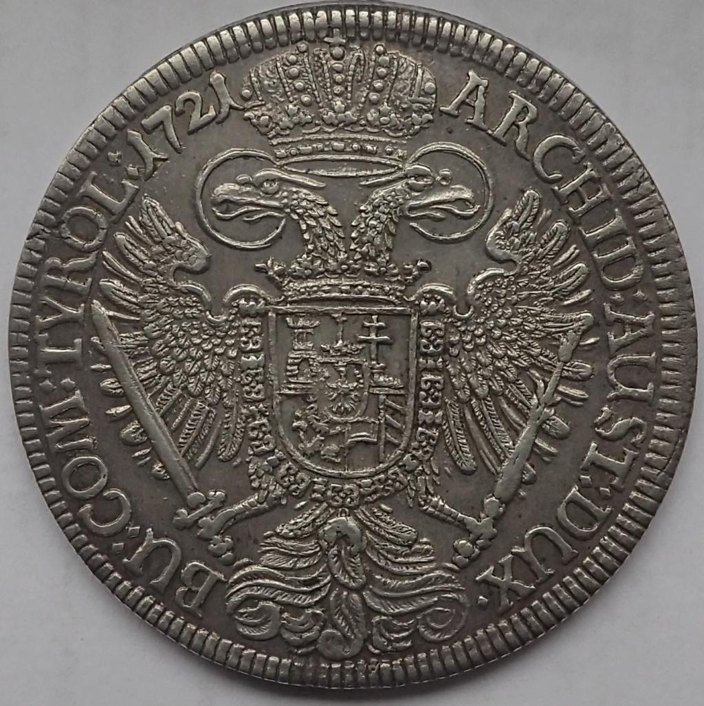 1 Taler de Carlos VI, 1721 Pb170314