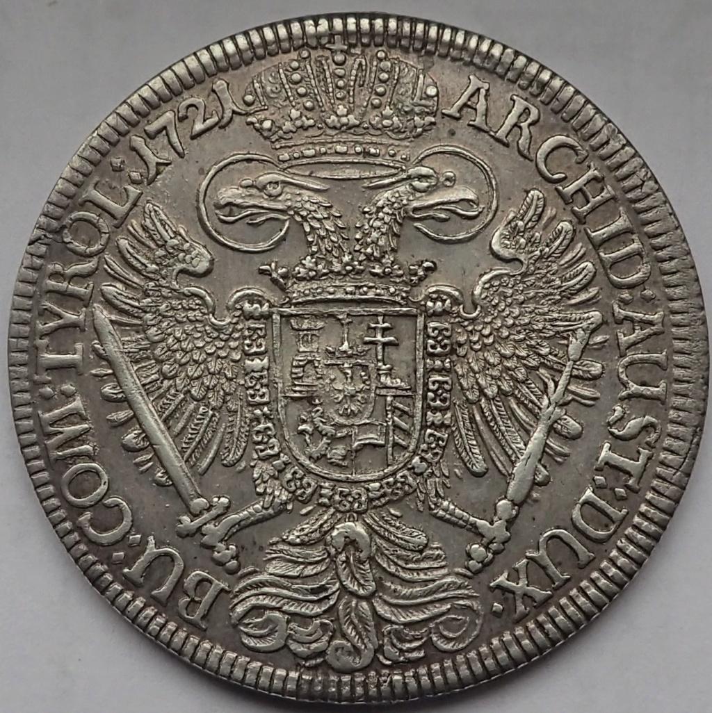 1 Taler de Carlos VI, 1721 Pb170315