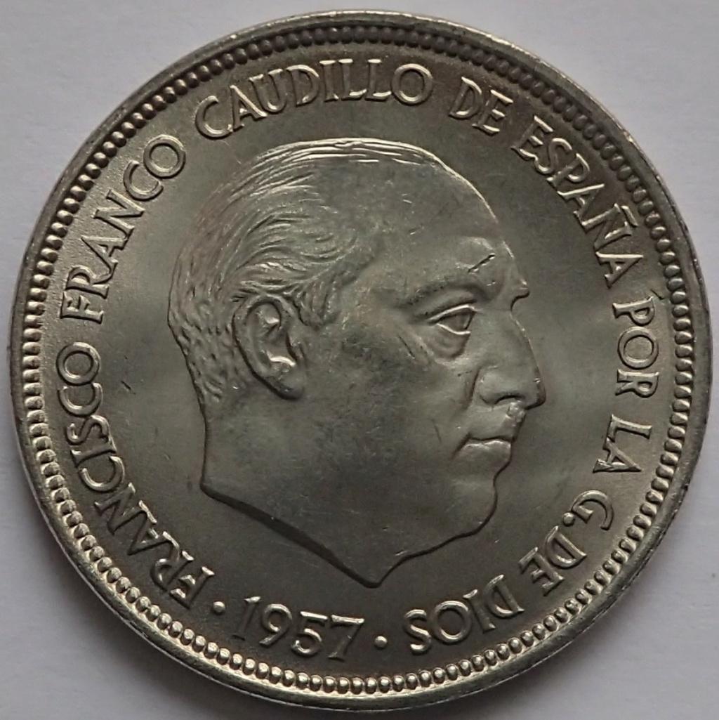 50 PESETAS 1957*59. Estado Español.  Pc230011