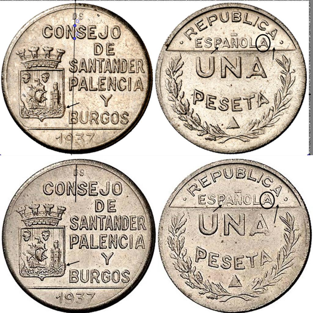 1 peseta 1937 Consejo de Santander, Palencia y Burgos, ¿que conservación tiene? T18