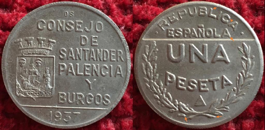 1 peseta 1937 Consejo de Santander, Palencia y Burgos, ¿que conservación tiene? T19