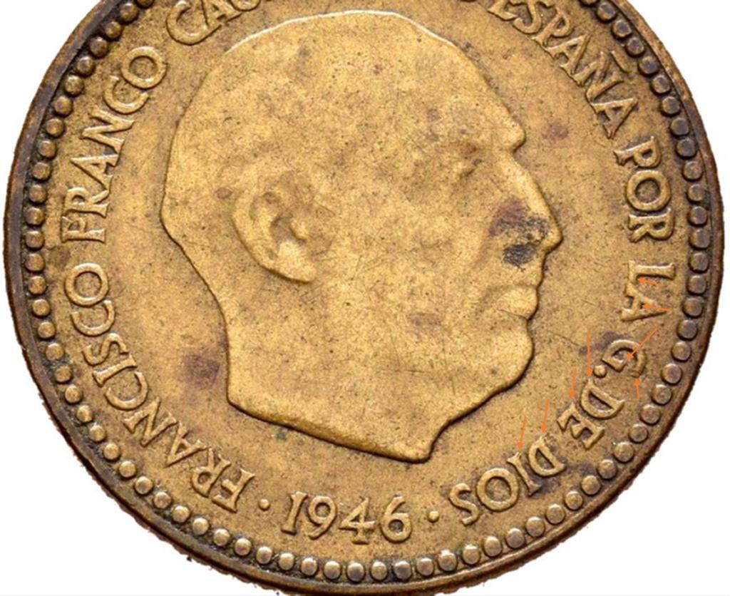 1 Peseta 1946 (*19-48). Estado español - Página 2 T21