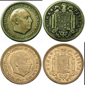 1 Peseta 1946 (*19-48). Estado español X10