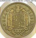 1 Peseta 1946 (*19-48). Estado español X12