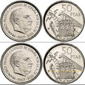 50 pesetas 1957 (*70). Estado Español X12