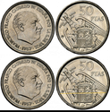 50 pesetas 1957 (*70). Estado Español Xx13
