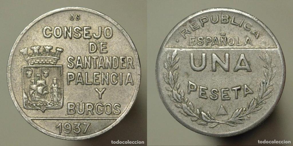 1 peseta 1937 Consejo de Santander, Palencia y Burgos, ¿que conservación tiene? - Página 2 V13