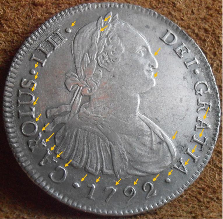 8 Reales 1792. Carlos IV. Lima - Página 2 X10