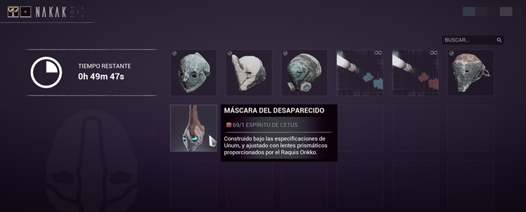 La Máscara de Revenant: Actualización 23.5.0 Captur21