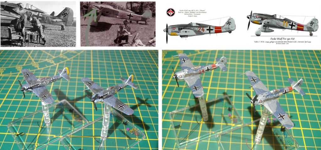 """From Spitfire, Me Bf 109 E, FW190 A, F4U Corsair, P-51 """"Blood Red Skies"""" to Wings Of Glory 210"""