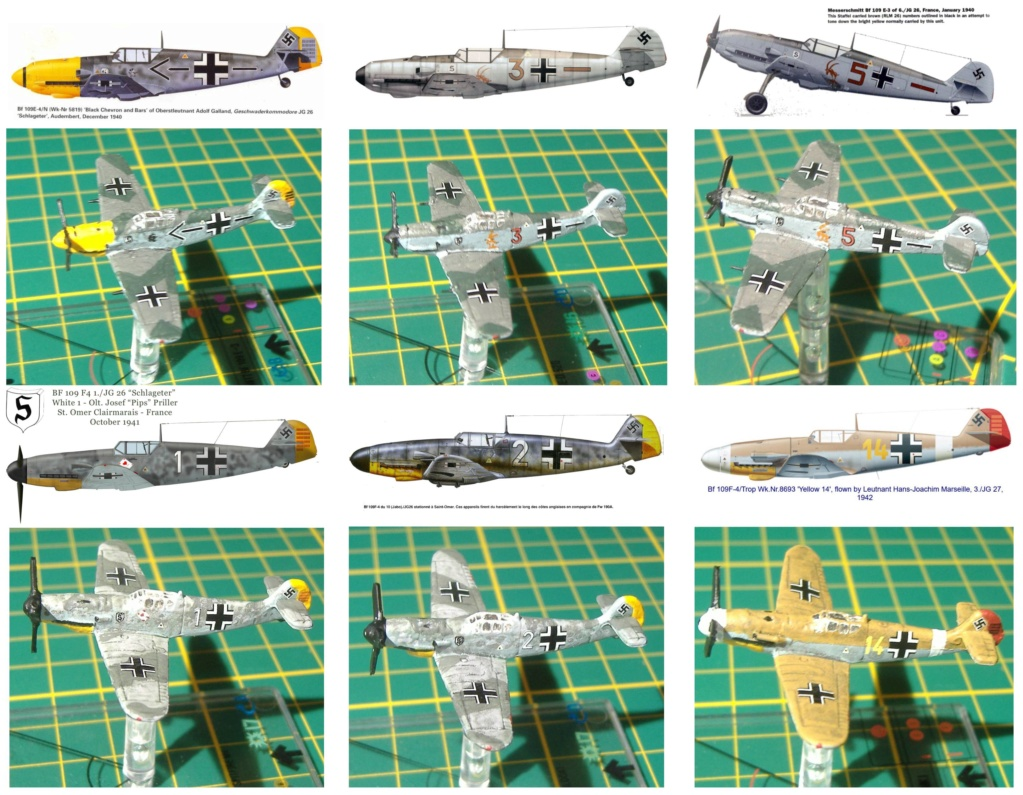 """From Spitfire, Me Bf 109 E, FW190 A, F4U Corsair, P-51 """"Blood Red Skies"""" to Wings Of Glory 3_6_x_10"""