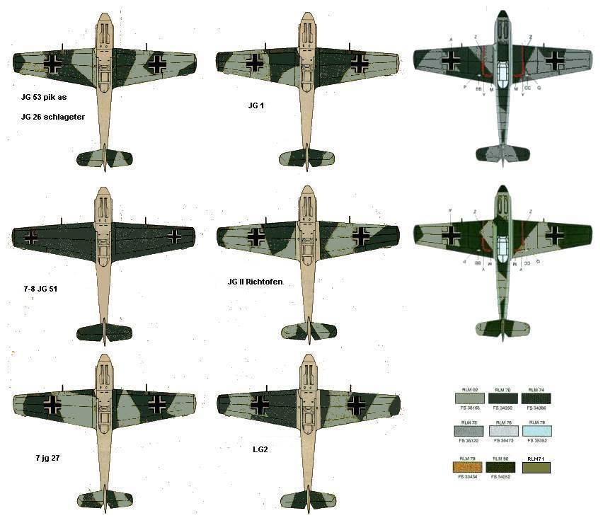 """From Spitfire, Me Bf 109 E, FW190 A, F4U Corsair, P-51 """"Blood Red Skies"""" to Wings Of Glory 3_mess10"""