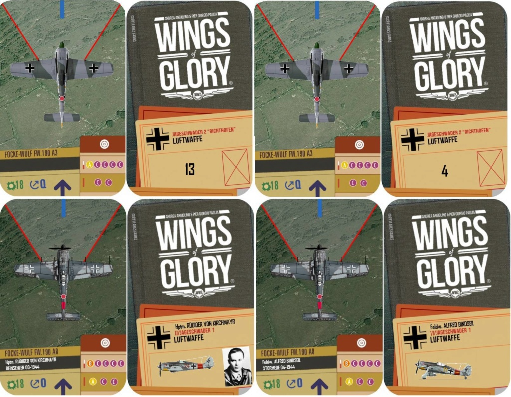 """From Spitfire, Me Bf 109 E, FW190 A, F4U Corsair, P-51 """"Blood Red Skies"""" to Wings Of Glory 410"""