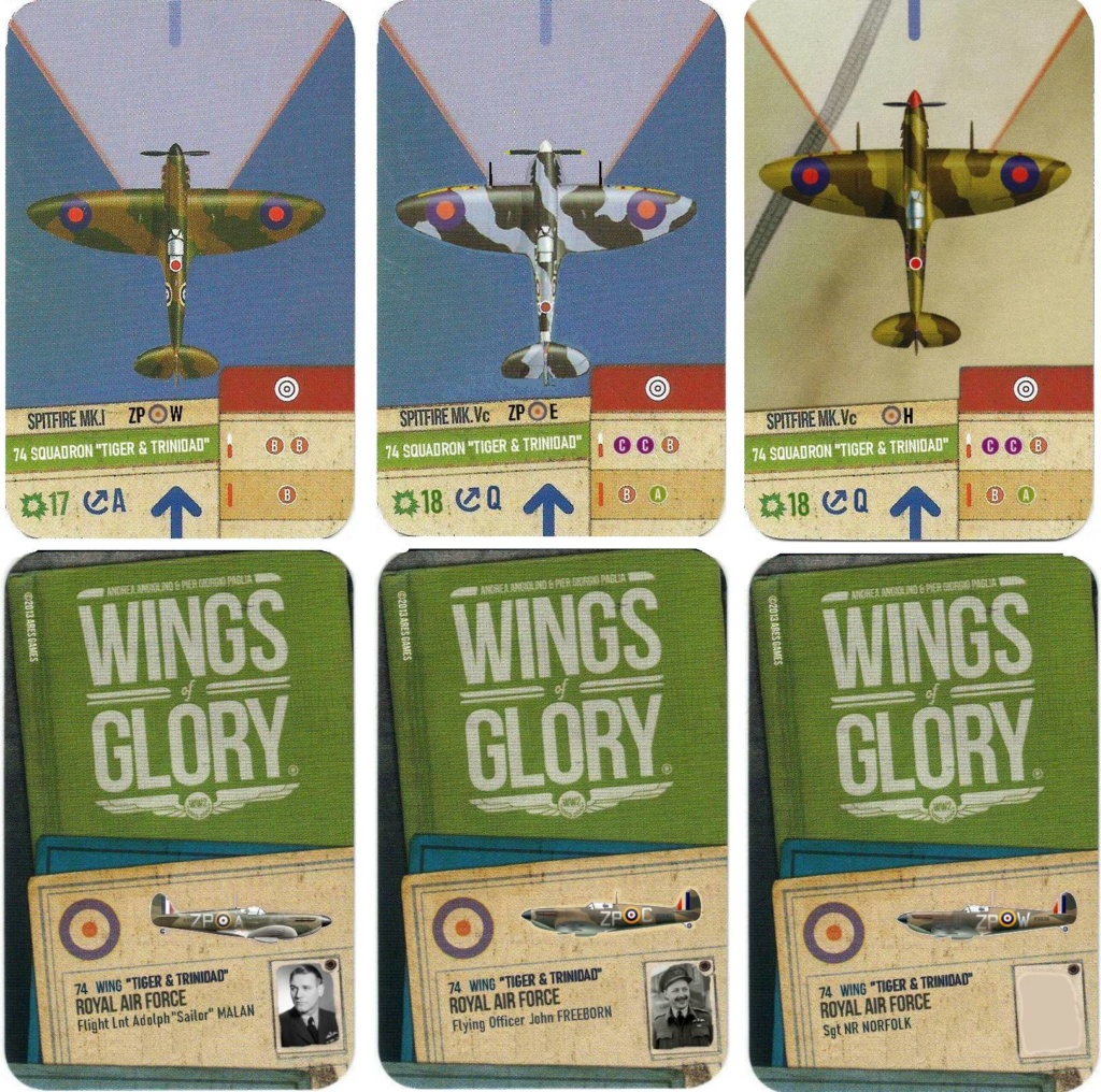 """From Spitfire, Me Bf 109 E, FW190 A, F4U Corsair, P-51 """"Blood Red Skies"""" to Wings Of Glory 6_cart10"""