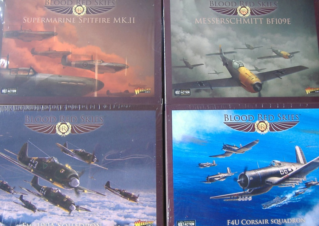 """From Spitfire, Me Bf 109 E, FW190 A, F4U Corsair, P-51 """"Blood Red Skies"""" to Wings Of Glory Dscf4910"""