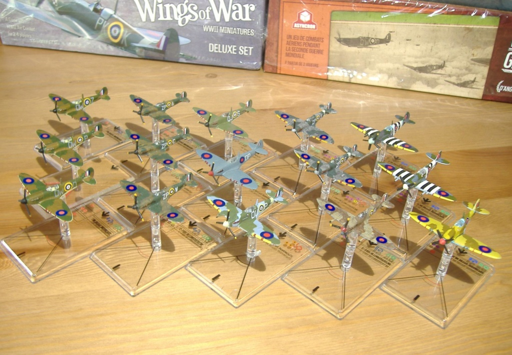"""From Spitfire, Me Bf 109 E, FW190 A, F4U Corsair, P-51 """"Blood Red Skies"""" to Wings Of Glory Dscf4913"""