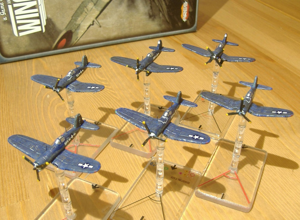"""From Spitfire, Me Bf 109 E, FW190 A, F4U Corsair, P-51 """"Blood Red Skies"""" to Wings Of Glory Dscf5210"""