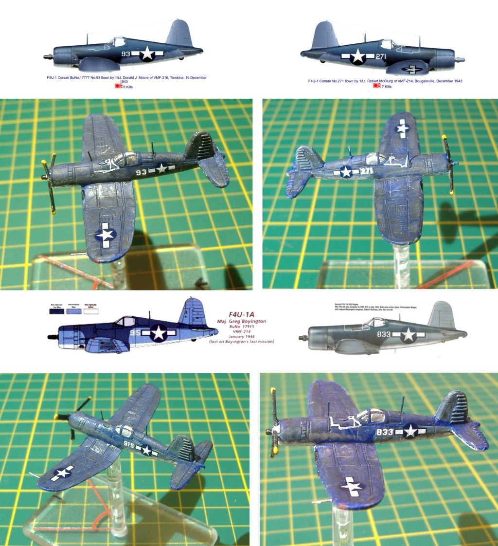 """From Spitfire, Me Bf 109 E, FW190 A, F4U Corsair, P-51 """"Blood Red Skies"""" to Wings Of Glory F4u-1_11"""