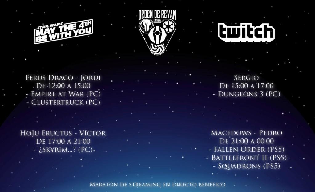 Canal de Twitch de Orden de Revan (ocasionalmente Warband) Horari10