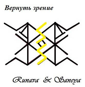 """Ставы """" Улучшить зрение """" , """" Вернуть зрение """" от Runava Piy5gg10"""