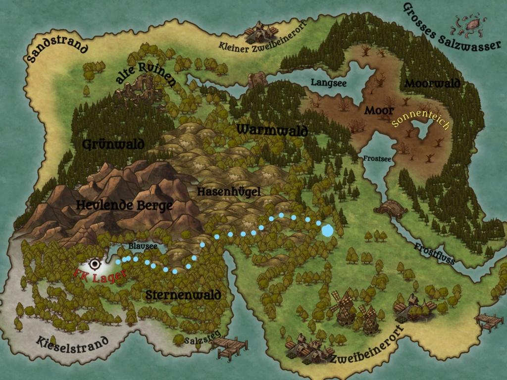 Aktueller Standort und Route zum  neuen Lager Inkedn10