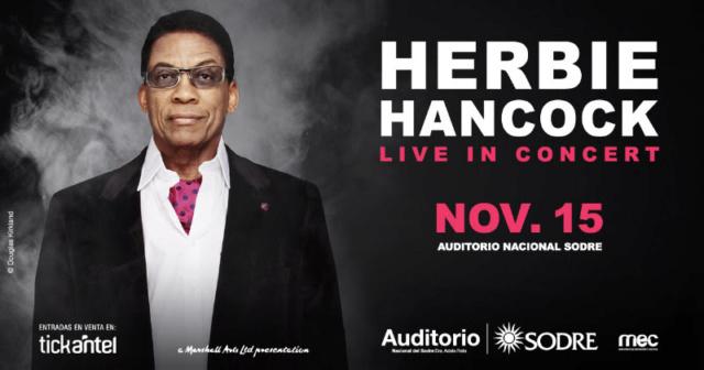 HERBIE HANCOCK – Live In Concert (15 Nov. Uruguay) 221