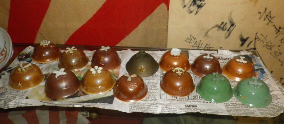 le saké dans l'armée japonaise et ses accessoires pendant la seconde guerre . 50210