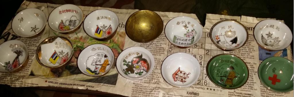 le saké dans l'armée japonaise et ses accessoires pendant la seconde guerre . Sake_c10