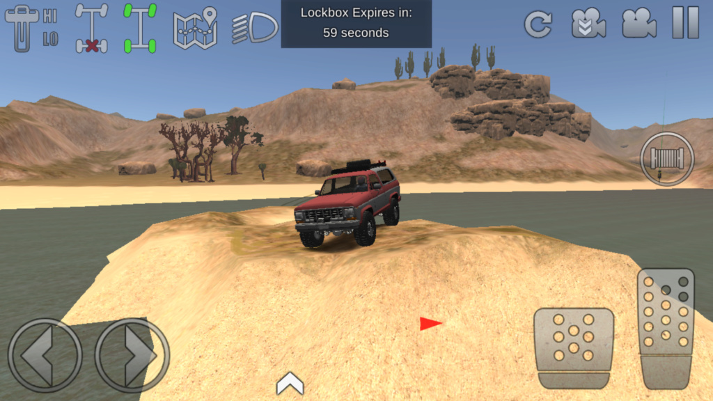 Quel jeu de franchissement tout terrain pour tablette et mobile android Screen14