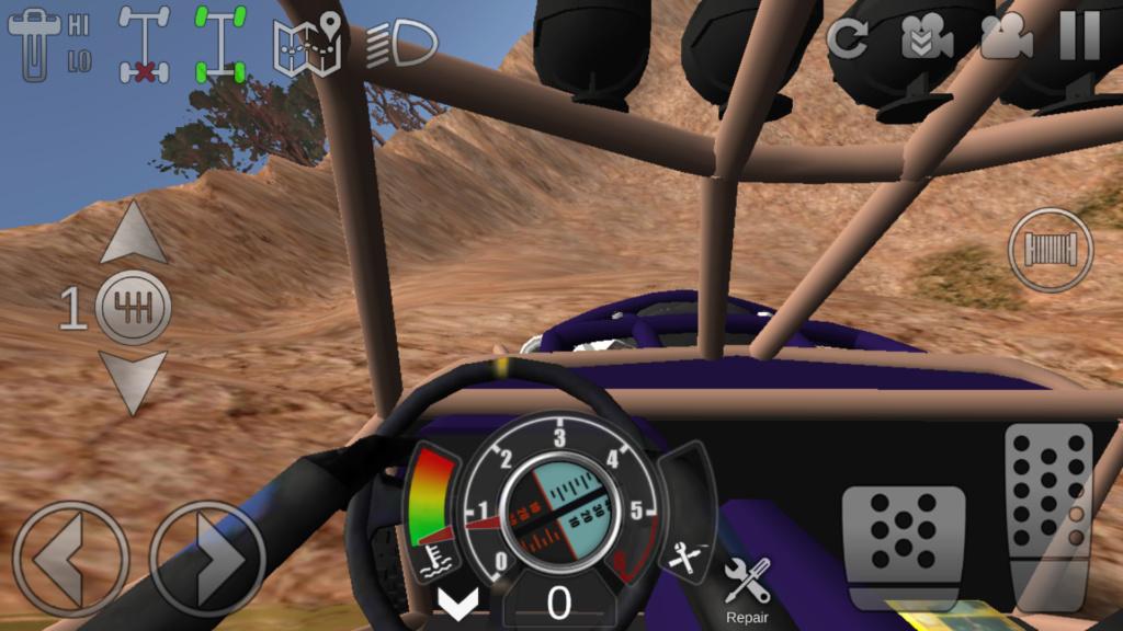Quel jeu de franchissement tout terrain pour tablette et mobile android Screen17