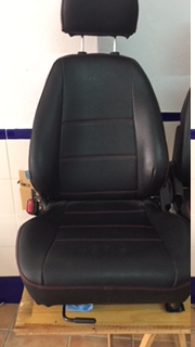 Vendo asientos con fundas a medida de piel sintetica NB 076ed410