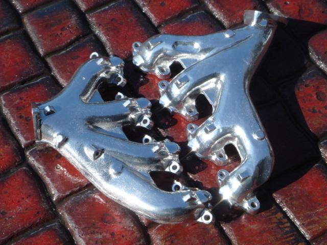 X-pipe inox pour C3 Big Block 454 de 70 Dsc01211